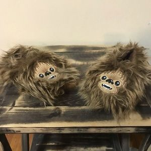 Toddler star war, chubacca slippers